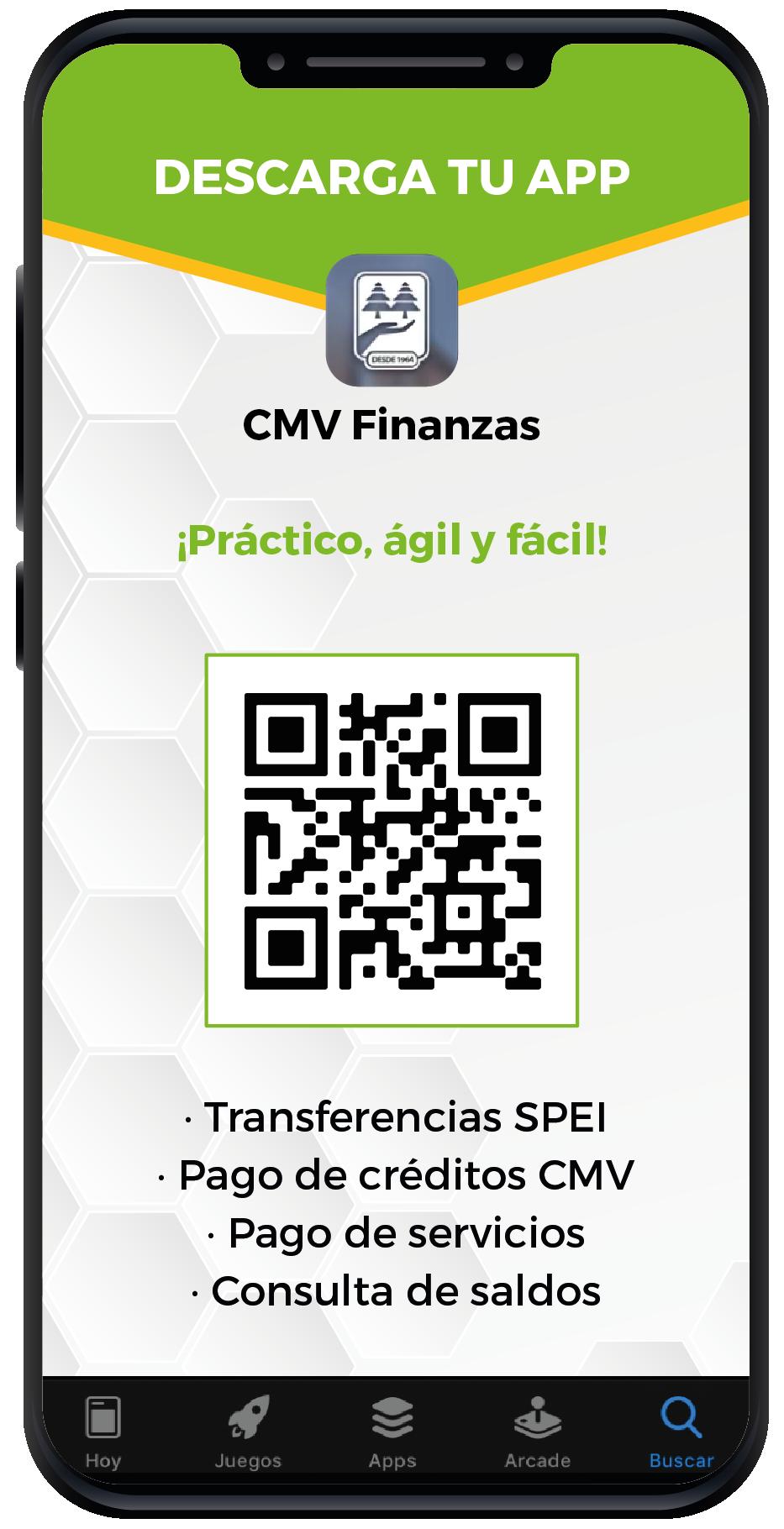 Aplicación CMVFinanzas